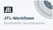 Zertifikat JTL-Workflows
